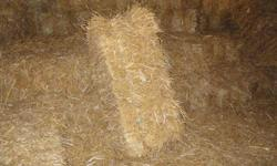 straw - good, clean straw  $3.00 per bale. hay    - first cut from 2011 (mostly timothy)  $3.25 per bale.   good size bales....lots of hay in a bale.