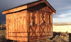 Tack sheds for sale. Can build a variety of different styles and sizes to suit your needs. Very well built, sturdy and unique. Mouse proof. Pictures are of some of my previous work. First 3 pics are of a 6 bay tack shed for a boarding facility and the