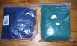 """$10.00 - each NEW, never seen a horse. """"Griffith"""" Navy blue one is extra-large, package is unopened. Green one is large. Protect your horse from blanket rubs on their shoulders. Check out my other items."""