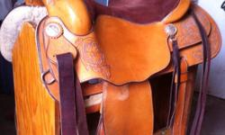 """16"""", lightly used Vic Bennett Reiner. Bulk less rigging...front neoprene cinch and leather back cinch included. This ad was posted with the Kijiji Classifieds app."""