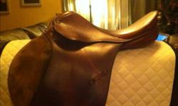 """17"""" medium tree Serial # 41518 $375 OBO or trade/partial trade for med-wide dressage saddle This ad was posted with the Kijiji Classifieds app."""