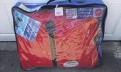 new weatherbeta orican size 84 ...in bag brand new...raspberry...located in maple ridge...
