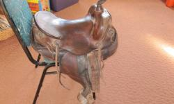 I have a really nice western saddle for sale 15.5 needs some sheepskin underneath and a couple stitches on the horn minor repair make a reasonable offer