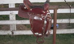 I have a lightly used, clean, comfortable, 15 inch western saddle for sale in excellent condition which includes a newer cinch and saddle pad (both used maybe 10 times) and a brand new, never been used breast collar, everything you need in a great saddle