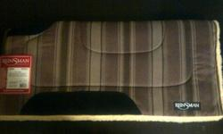 * Brand New 32 x 32 Reinsman Cutback Square Cut Saddle Pad. - Tags still on it, Never used. $ 80 * Brand New Weaver 8 x 8 Rope Reins, Never used, Tags still on them. $ 13 *Brand New Black Weaver Nylon Bridle, Never Used, Tags still on. $ 23 ** If