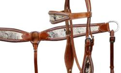 Western Show Tack Headstall + Breast Plate + Reins 3pc Set New Retail Price in Tack Stores: $299 Buy it here now for $135 Here are the details: Conchos: Hand Engraved Hardware: Hand Engraved Conchos and fittings Quarter Horse Size. Adjustable eg: Bit to